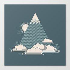 Cloud Mountain Canvas Print