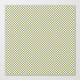 Woodbine Polka Dots Canvas Print