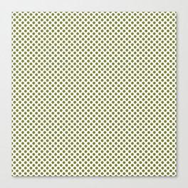 Woodbine Polka Dots Canvas Print