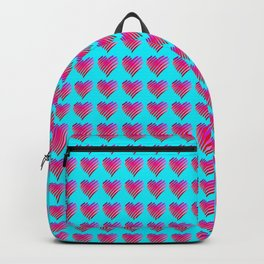 Valentine's day heart Backpack