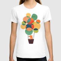 hot T-shirts featuring Whimsical Hot Air Balloon by Picomodi