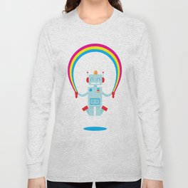 Skipping a Rainbow Long Sleeve T-shirt