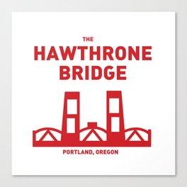 Hawthrone Bridge Canvas Print