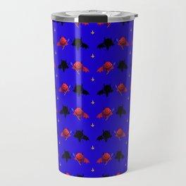 Cute Devil Pattern Travel Mug