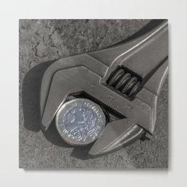 One Pound Wrench Metal Print