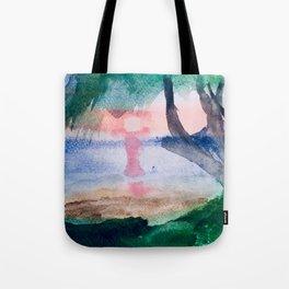 Island Dusk Tote Bag