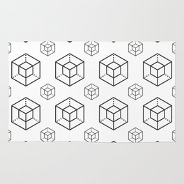Enigma - Crypto Fashion Art (Large) Rug