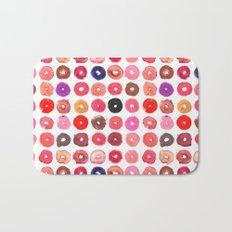 Lipstick Donuts Bath Mat