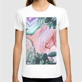 Mineral Agates & Garden #Glam collection T-shirt