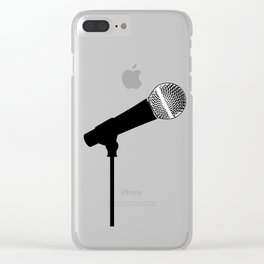 Microphone Clear iPhone Case