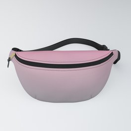 Gradient Blend Pantone 2021 Color of the Year Ultimate Gray 17-5104 And Prism Pink 14-2311 Fanny Pack