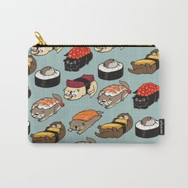 Sushi Otter Carry-All Pouch