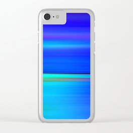 Night light abstract Clear iPhone Case
