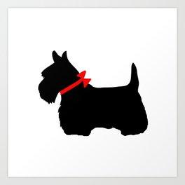 scottie dog art prints society6