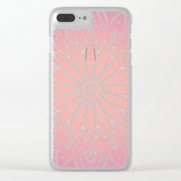 Sacred Sunrise Clear iPhone Case