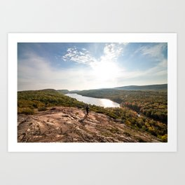 Lake of the Clouds Art Print