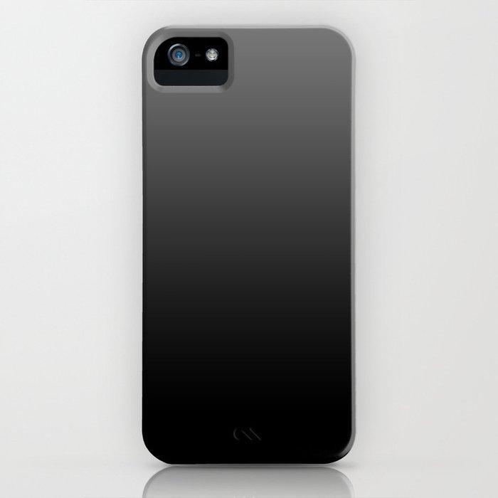 Dark Ombre iPhone Case
