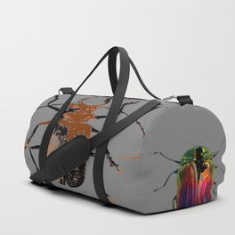 NATURE LOVERS BEETLE BUG COLLECTION ART Duffle Bag