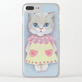 Catika. Clear iPhone Case