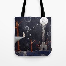 I'll Give You The Moon Panel 1 Tote Bag