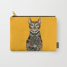 bengal cat saffron Carry-All Pouch