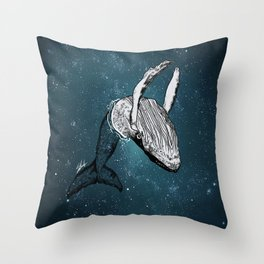the universe wall Throw Pillow