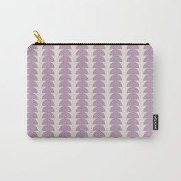 Maude Pattern - Mauve Carry-All Pouch