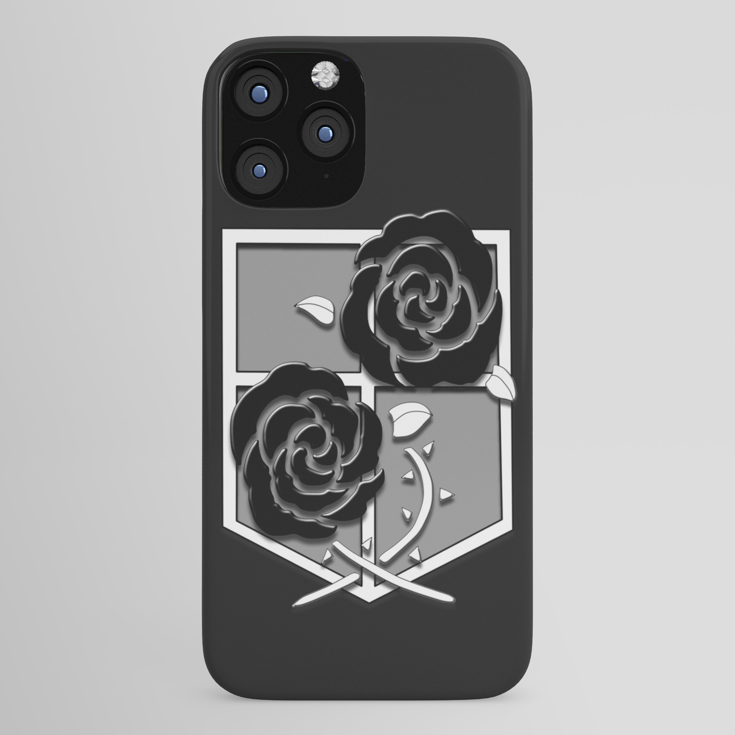 Attack On Titan Stationary Guard Iphone Case By Invert1x Society6