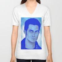 derek hale V-neck T-shirts featuring Derek Hale by Mel Darling