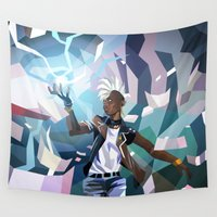 storm Wall Tapestries featuring Storm by Liam Brazier