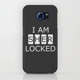 I AM SHERLOCKED iPhone Case