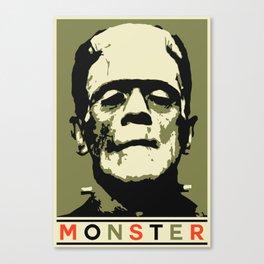 Monster (Boris Karloff) Canvas Print