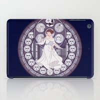 leia iPad Cases featuring Leia by NicoleGrahamART