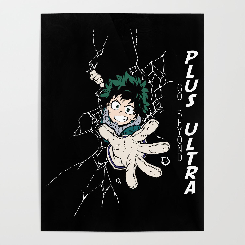 Go Beyond Plus Ultra V2 Poster By Rikudou Society6