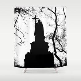 eternal silhouette Shower Curtain