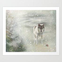 Winter's Gift Art Print