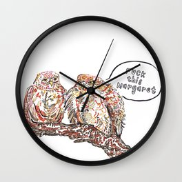 F This Margaret Wall Clock