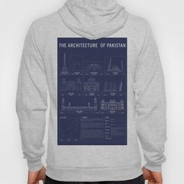 The Architecture of Pakistan Hoody