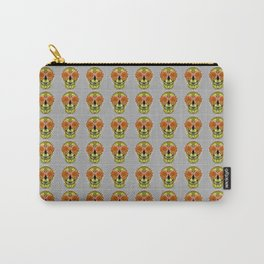 Skull Face Mood Carry-All Pouch