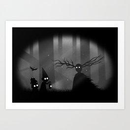 Wayward Souls Art Print