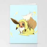 eevee Stationery Cards featuring Eevee-licious! by EeekGirl