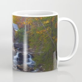 Glade Creek Mill in Autumn Coffee Mug