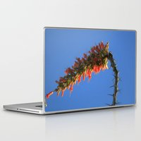 hook Laptop & iPad Skins featuring Ocotillo Hook by Mae2Designs
