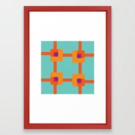 Egnaro Dezinrettap Framed Art Print