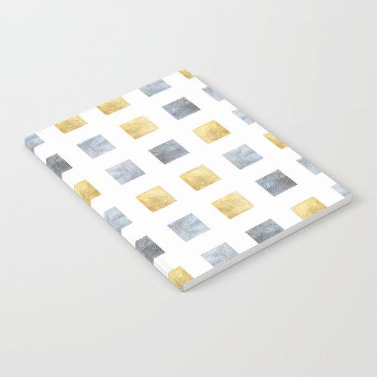 Metallic mosaic Notebook