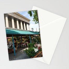 Paris Flower Vendor Stationery Cards