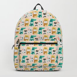 Animal idioms - its a free world Backpack