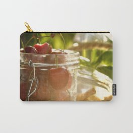Fresh cherrie in glass Carry-All Pouch