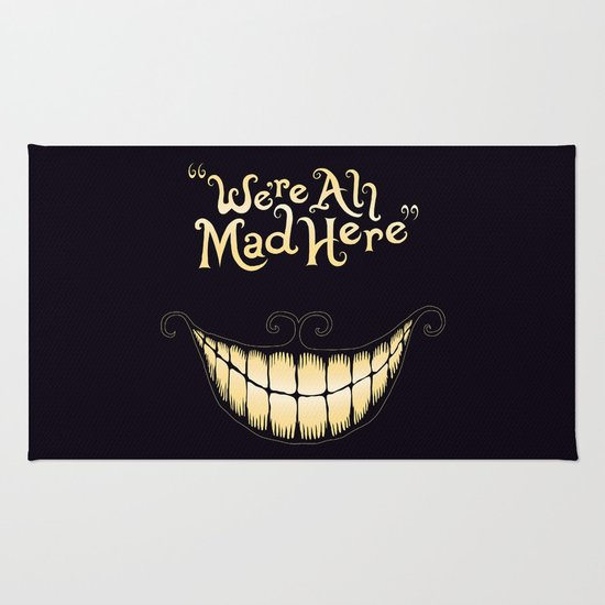 We're All Mad Here Rug