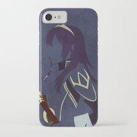 fire emblem awakening iPhone & iPod Cases featuring Lucina Fire Emblem Awakening  by MKwon